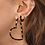 Thumbnail: Golden Heart Earrings