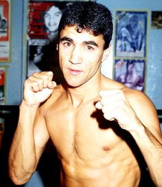 A young Jeff Fenech
