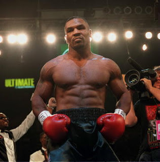Mike Tyson looking to be back to his best...