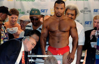 Tyson looking in top condition for his first fight back Vs Peter McNeeley