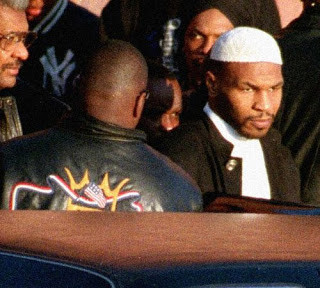 Tyson being released from prison