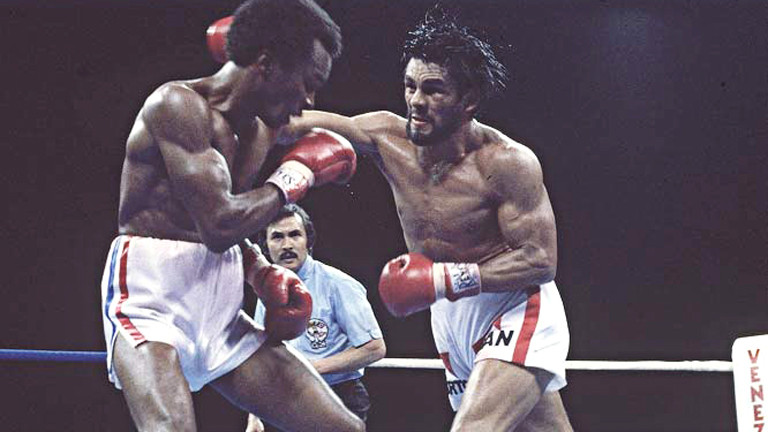 Leonard surprised everyone when he abandoned his  boxing and fought Duran's fight