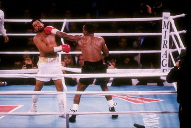 The jab was a dominant weapon