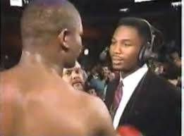 Lewis confronts the new undisputed heavyweight champion Bowe