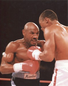 Hagler wanted to swap blows with Leonard