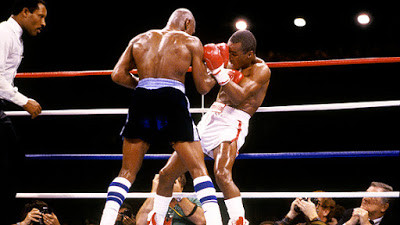 Exactly where Hagler wanted Leonard