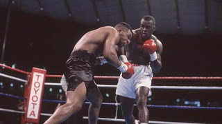 James 'Buster' Douglas lands another right