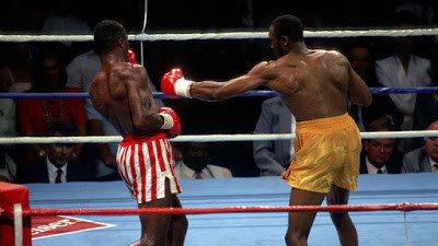 Hearns' left was a potent weapon