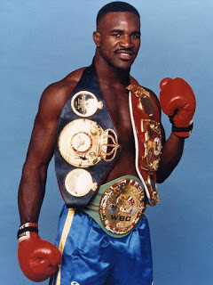Evander Holyfield became undisputed cruiserweight champion on 09th April 1988 On 09th April 1988