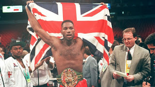Lennox Lewis was awarded the WBC title in January 1993