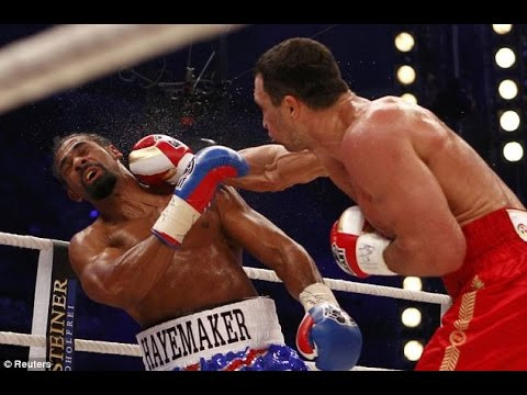 Wladamir Klitschko was too good for Haye