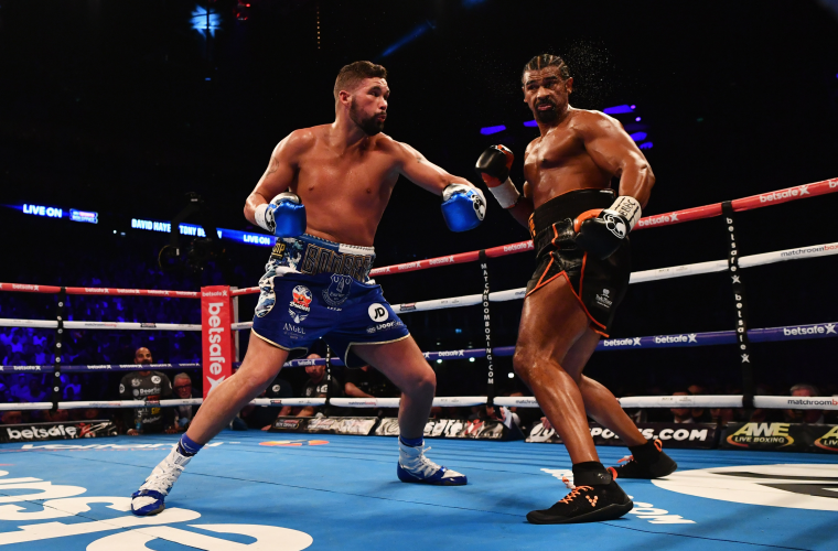 Bellew took advantage of Haye's achilles injury