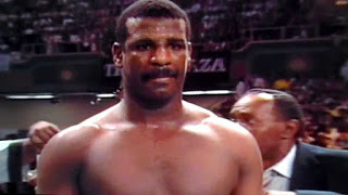 Michael Spinks waiting to face Tyson