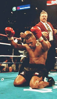 Tyson became a Muslim in prison and prayed to Allah after his  victory over Bruno