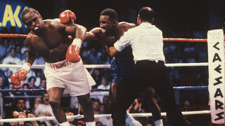 Dokes on the way out of heavyweight encounter of the 1980's