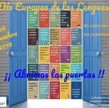 Celebramos el Día Europeo de las Lenguas