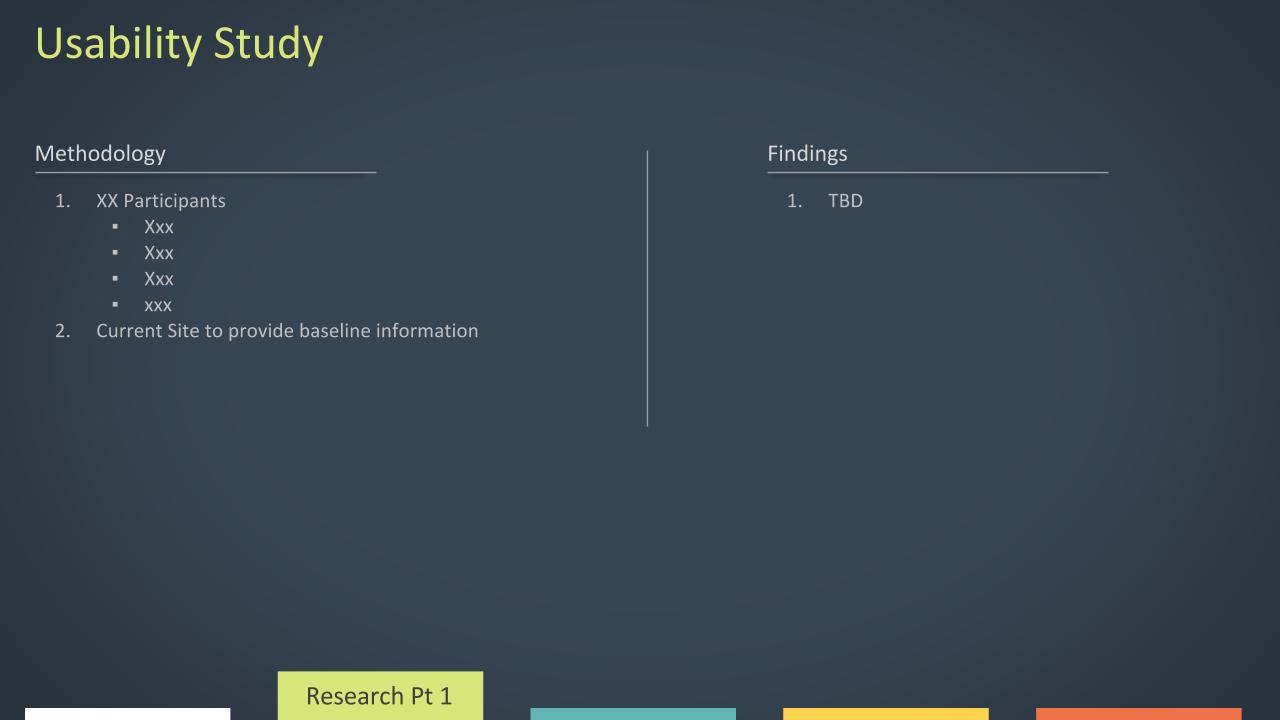 Future Usability Study Outline