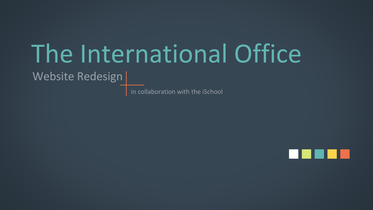 International Office - Research