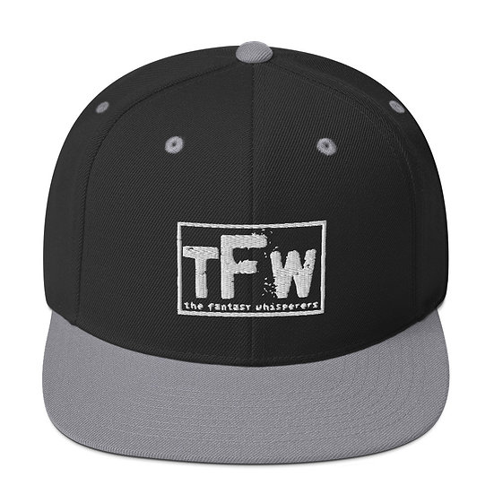 Throwback TFW Snapback - White logo