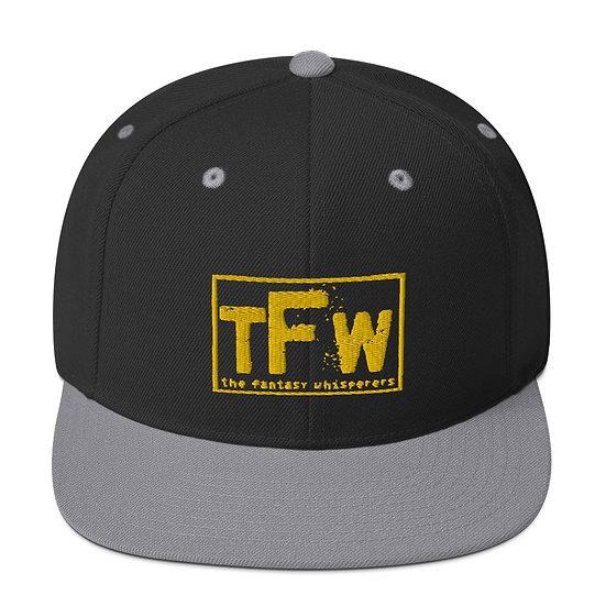 TFW Throwback Snapback - Yellow logo