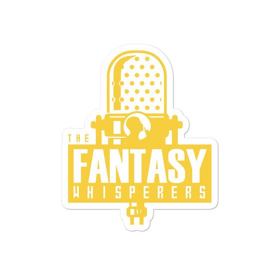 The Fantasy Whisperers Logo Sticker