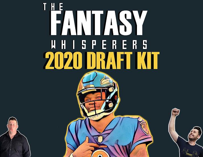 The Fantasy Whisperers 2020 Draft Kit