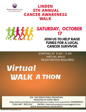Copy of Walk Athon Flyer Tempalte - Made