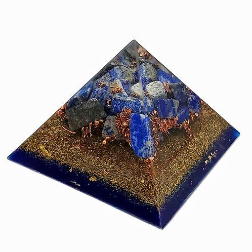 Pyramid Medium EMF Balance with lapis lazuli