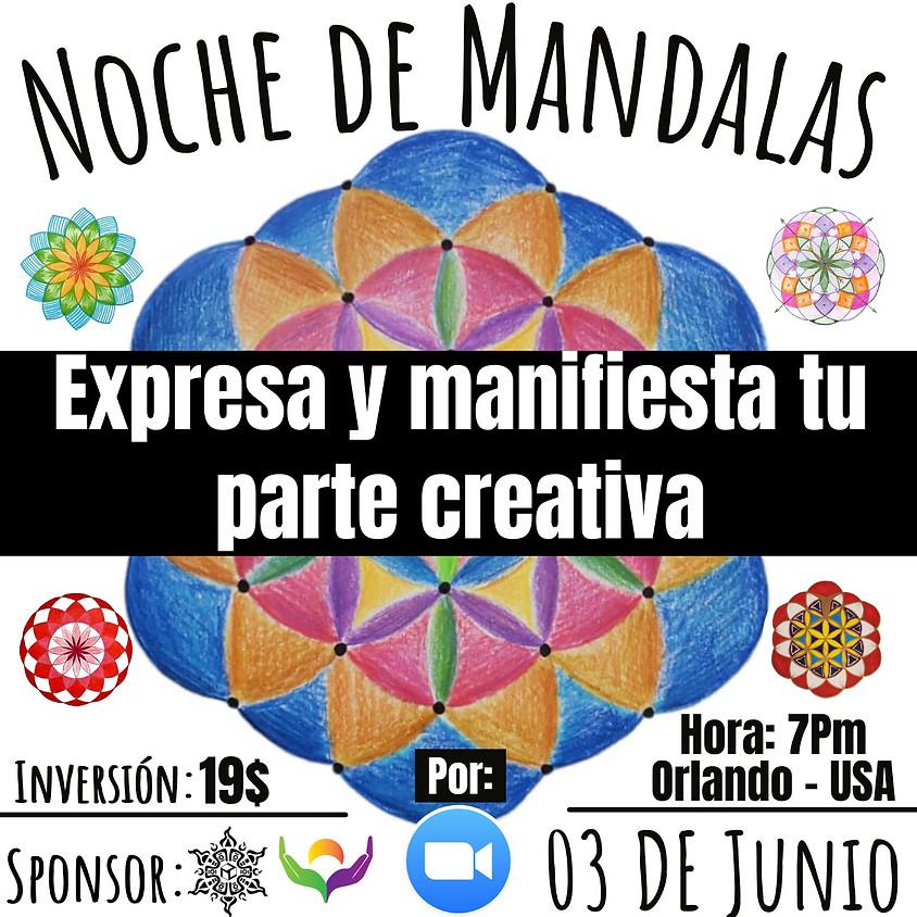NOCHE DE MANDALAS ONLINE