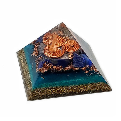 Pyramid Small EMF Balance with lapis lazuli