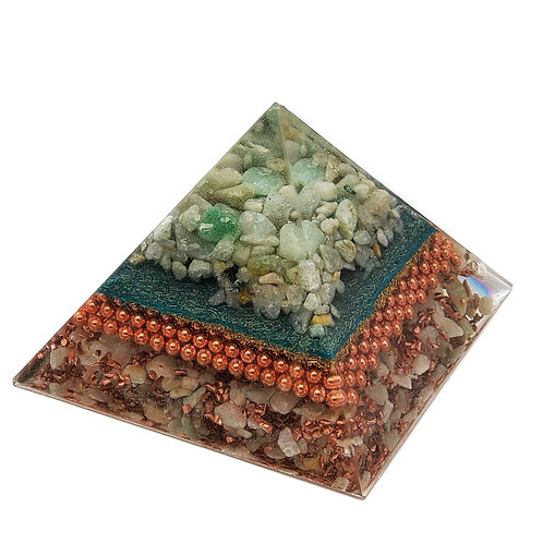 Pyramid Large EMF Balance with Aventurine