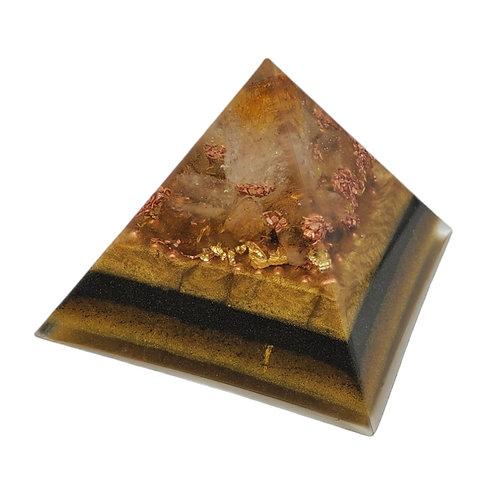Pyramid Medium with Citrine