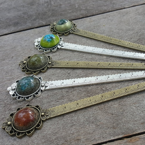 Bookmark/ Ruler EMF Balance with Different Crystals