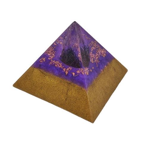 Pyramid Small EMF Balance with Amethyst