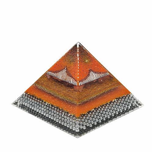 Pyramid XL EMF Balance with Carnelian