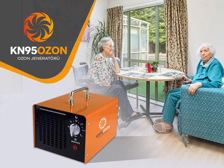 Yaşlı Bakım Evlerinde Ozon Jeneratörü Kullanımı