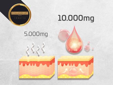 10.000 mg Kolajen vs. 5.000 mg Kolajen!