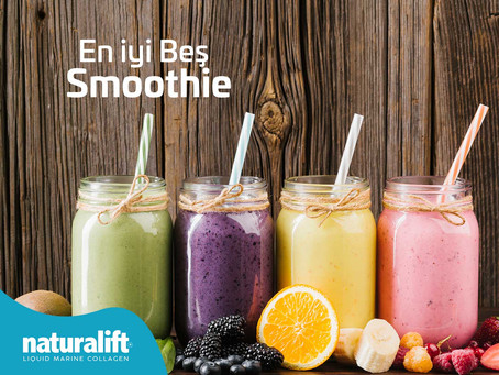 Vitamin ve Mineral Deposu 5 Sağlıklı Smoothie!