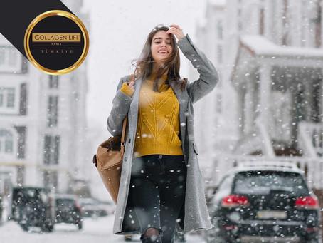 Kış Geldi: Soğuk Rüzgarlar Cilde Zarar!