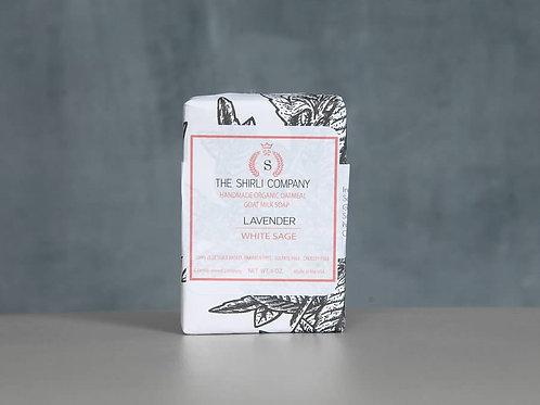 Handmade Organic Oatmeal Lavender & White Sage Soap