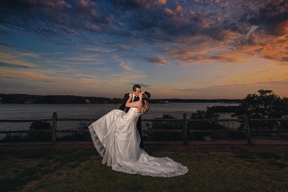 Lake-of-the-Ozarks-Missouri-Wedding-Sunset