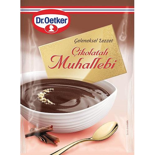 Dr. Oetker Cikolatali Muhallebi mit Schokolade