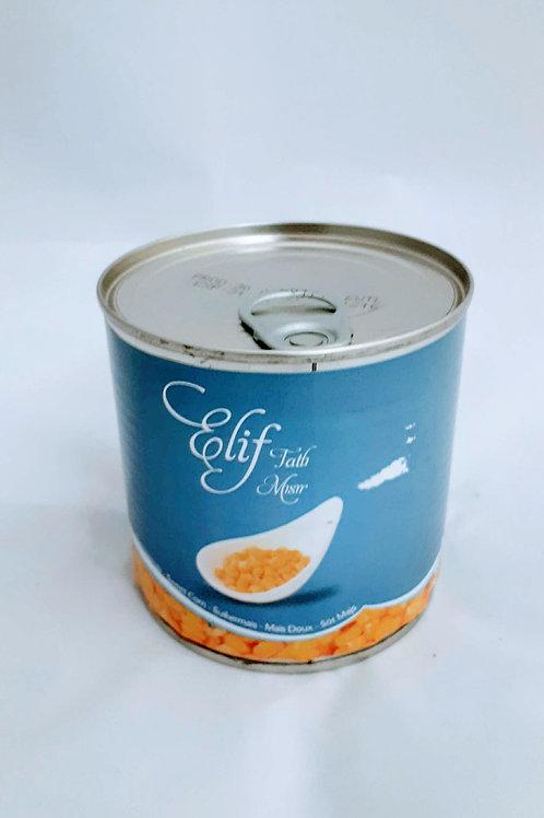 Elif tatli misir konserve