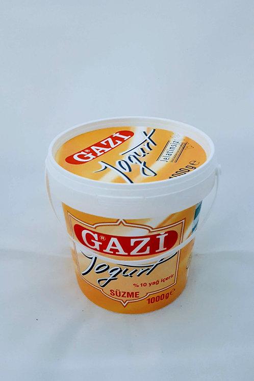 Gazi süzme yogurt1kg