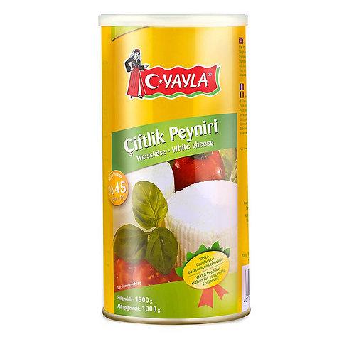 Yayla Weißkäse 45% Fett 1 kg