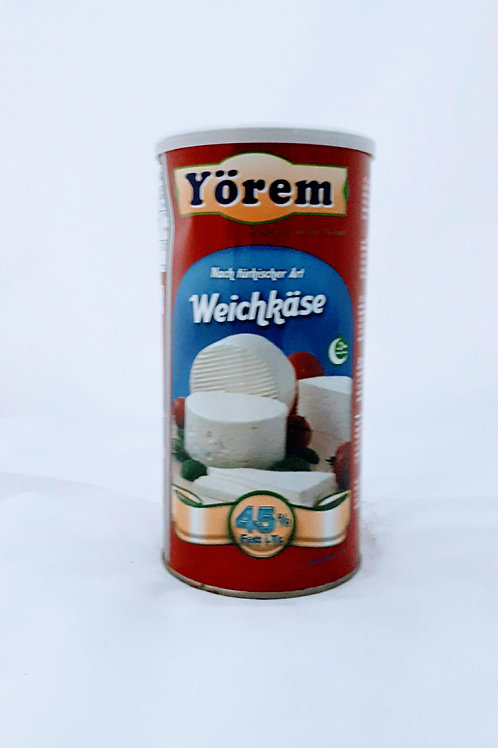 Yörem Beyaz peynir %45