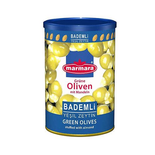 marmara Grüne Oliven mit Mandeln 400g
