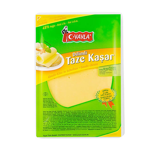 Yayla Gouda-Käse in Scheiben