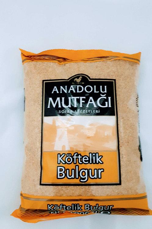 Anadolu mutfagi köftelik bulgur