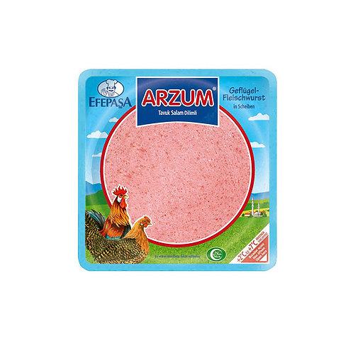 Efepasa Arzum Geflügelfleischwurst in Scheiben